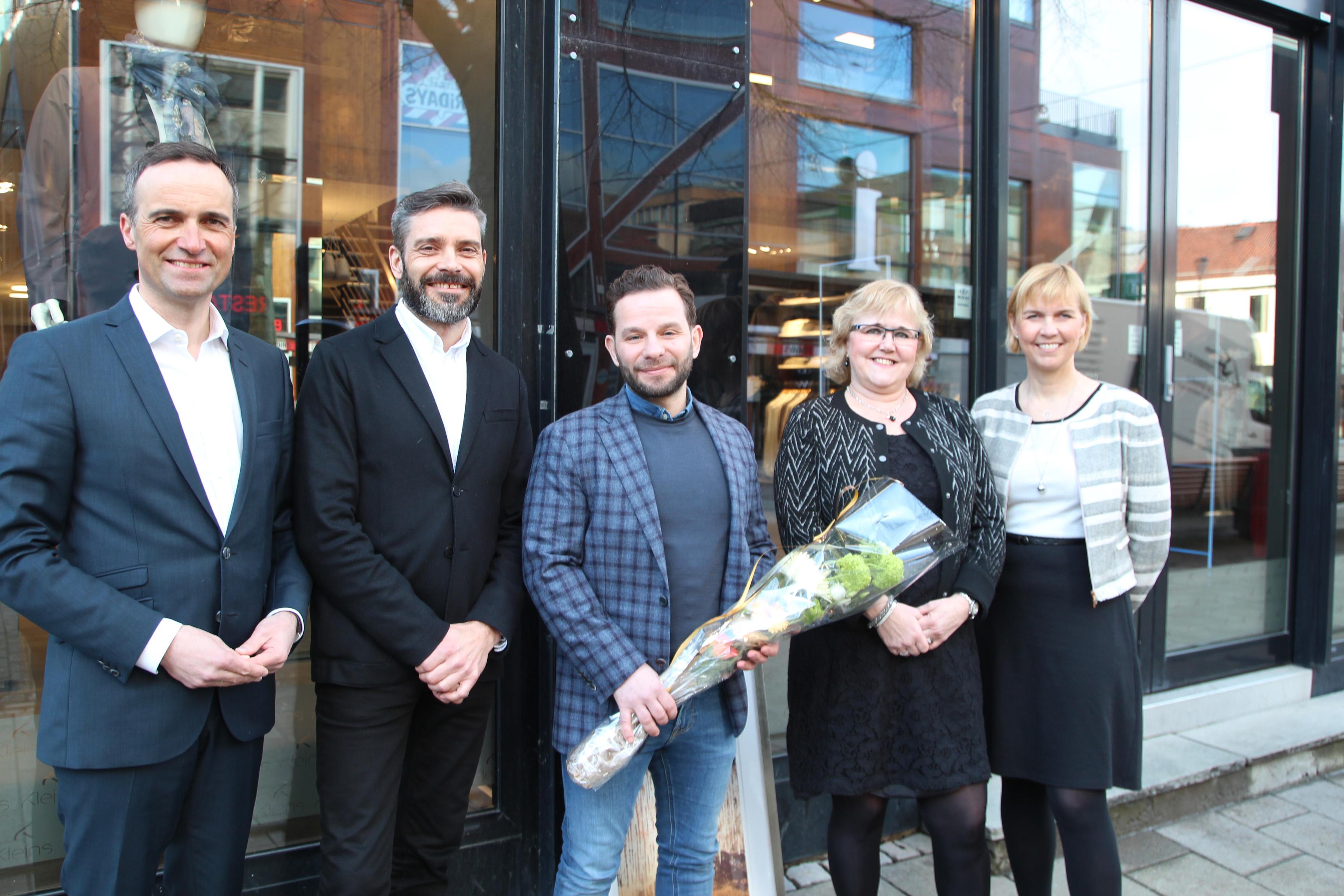 c95fdb76 Kleinsgruppen ble Årets handelsbedrift 2015   Næringsforeningen i  Trondheimsregionen