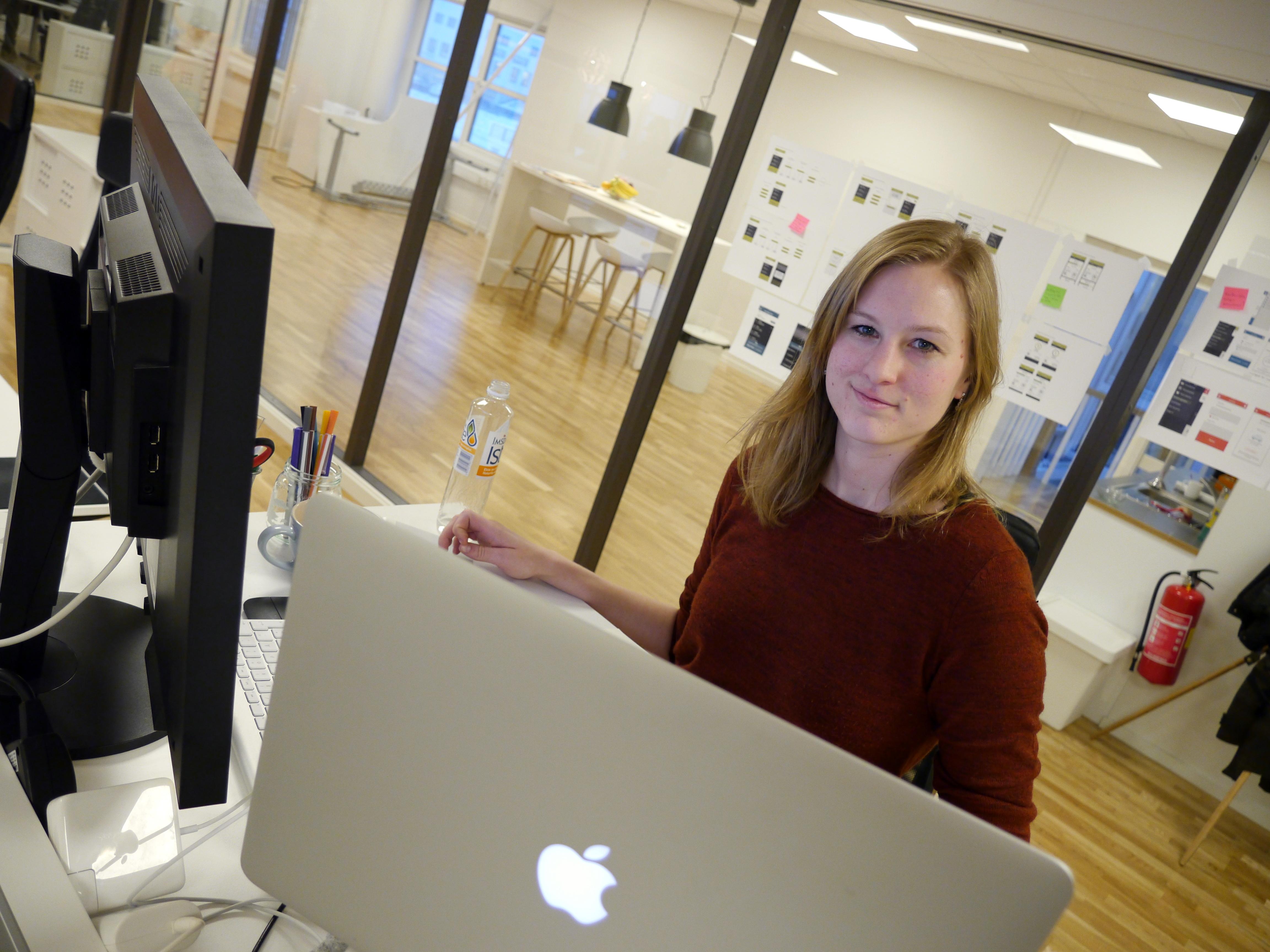 Blir aldri «bra nok». - Å øke funksjonalitet og brukervennlighet i appene, er en oppgave som aldri tar slutt, forklarer Stine Bechmann.