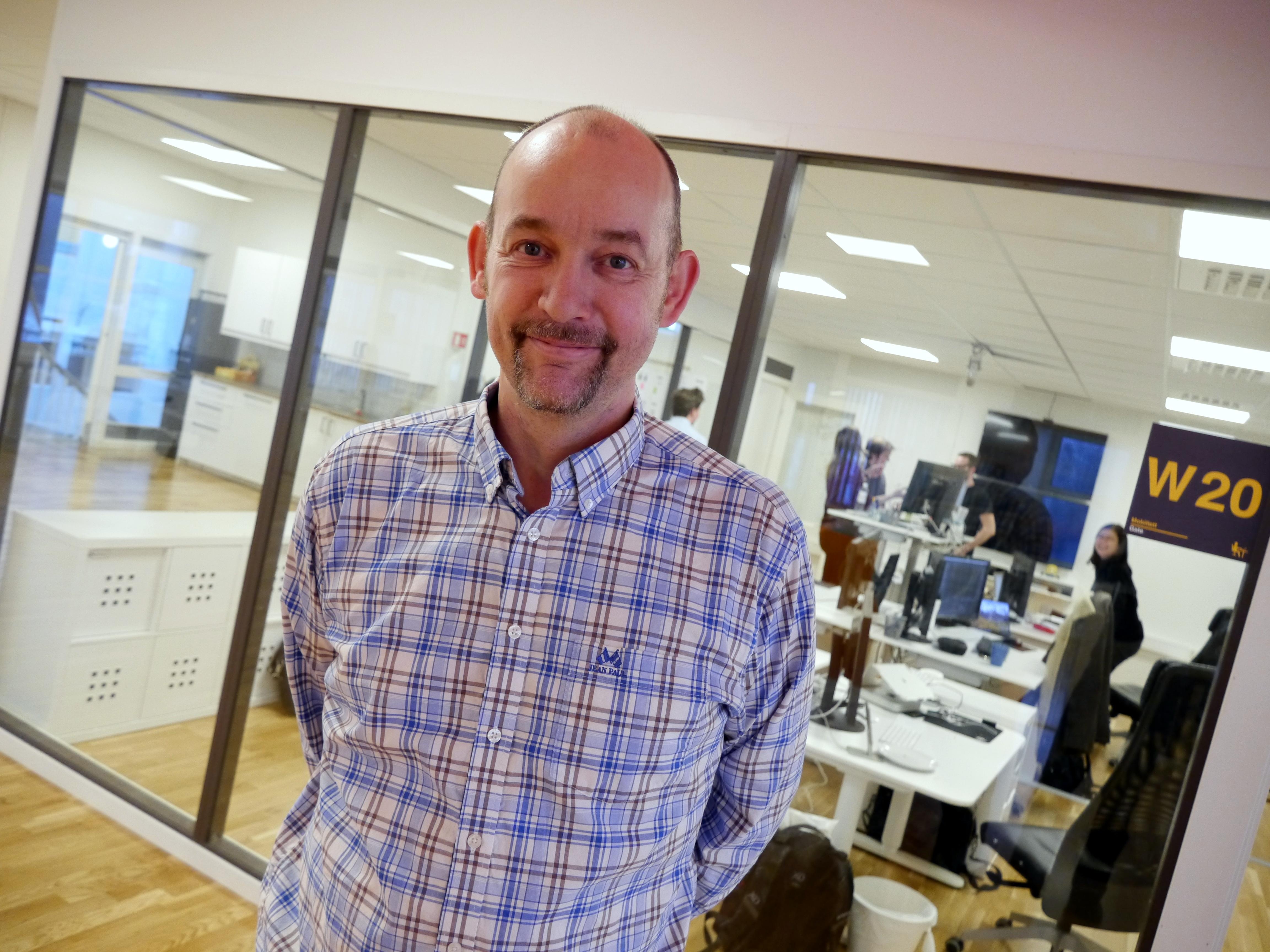 Eventyrlig utvikling. Trond Nordby, administrerende direktør i WTW AS, tar sikte på å runde 60 millioner i omsetning i 2016.