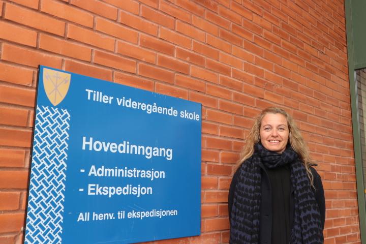 Næringsrettet fagleder. Fagleder på Tiller videregående skole, Nina Elgåen Olsen, påpeker viktigheten av arrangementer som Yrkes-NM.