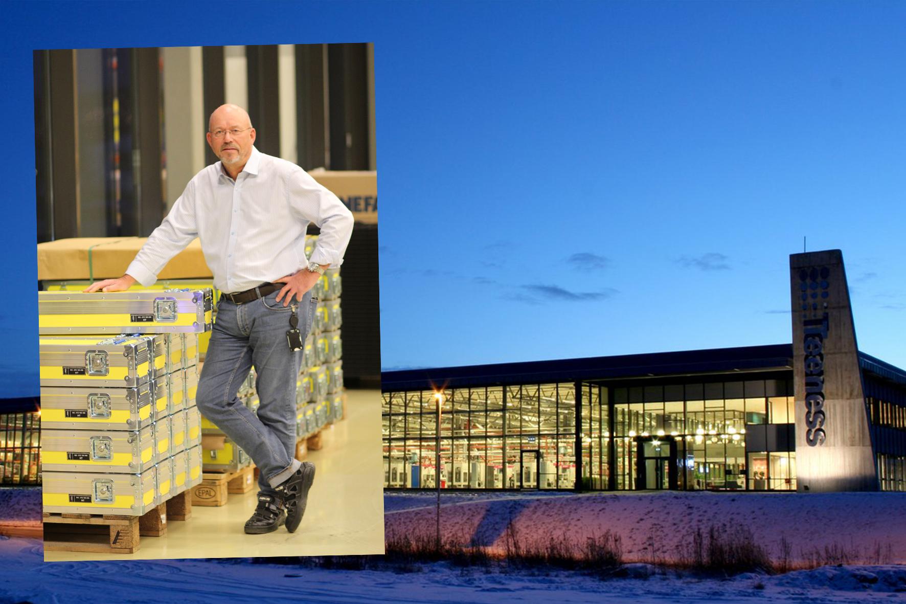 Førsteklasses innpakning. Forseggjorte trekasser fra Capro på Melhus er emballasje til Premium-produktene fra Sandvik Teeness. - Dette er produkter fra 150.000-200.000 kroner og oppover, forklarer leder for salgs- og markedsstøtte, Nils Aksel Ruud. Tekst og foto: Kenneth Stoltz