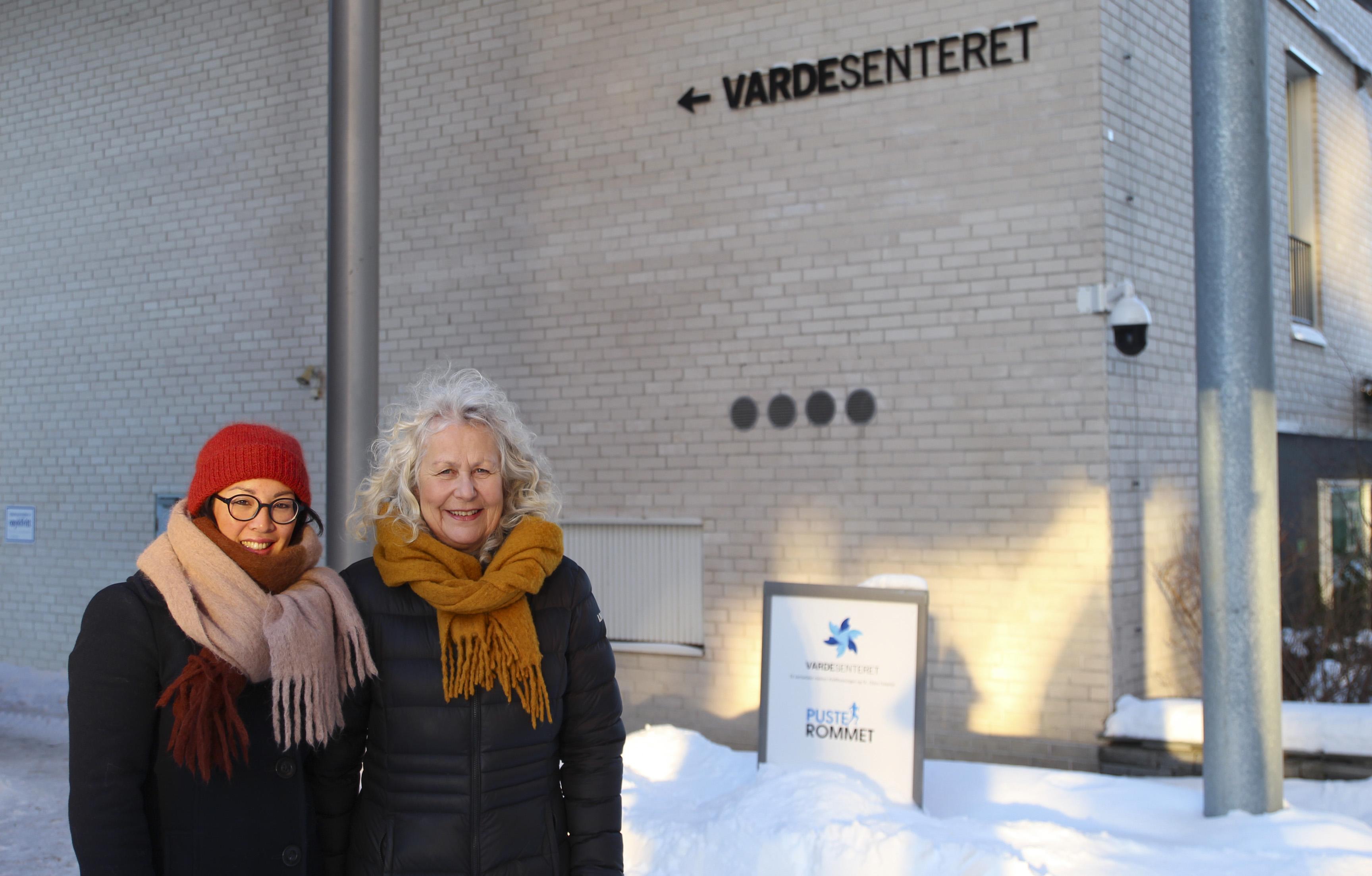 Bedre tilrettelegging for arbeid etter sykdom. Kommunikasjonsrådgiver Linda Skjærvik og distriktsjef Eva Faanes i Kreftforeningen ønsker mer bevissthet rundt kreft og sykdom på arbeidsplassen.