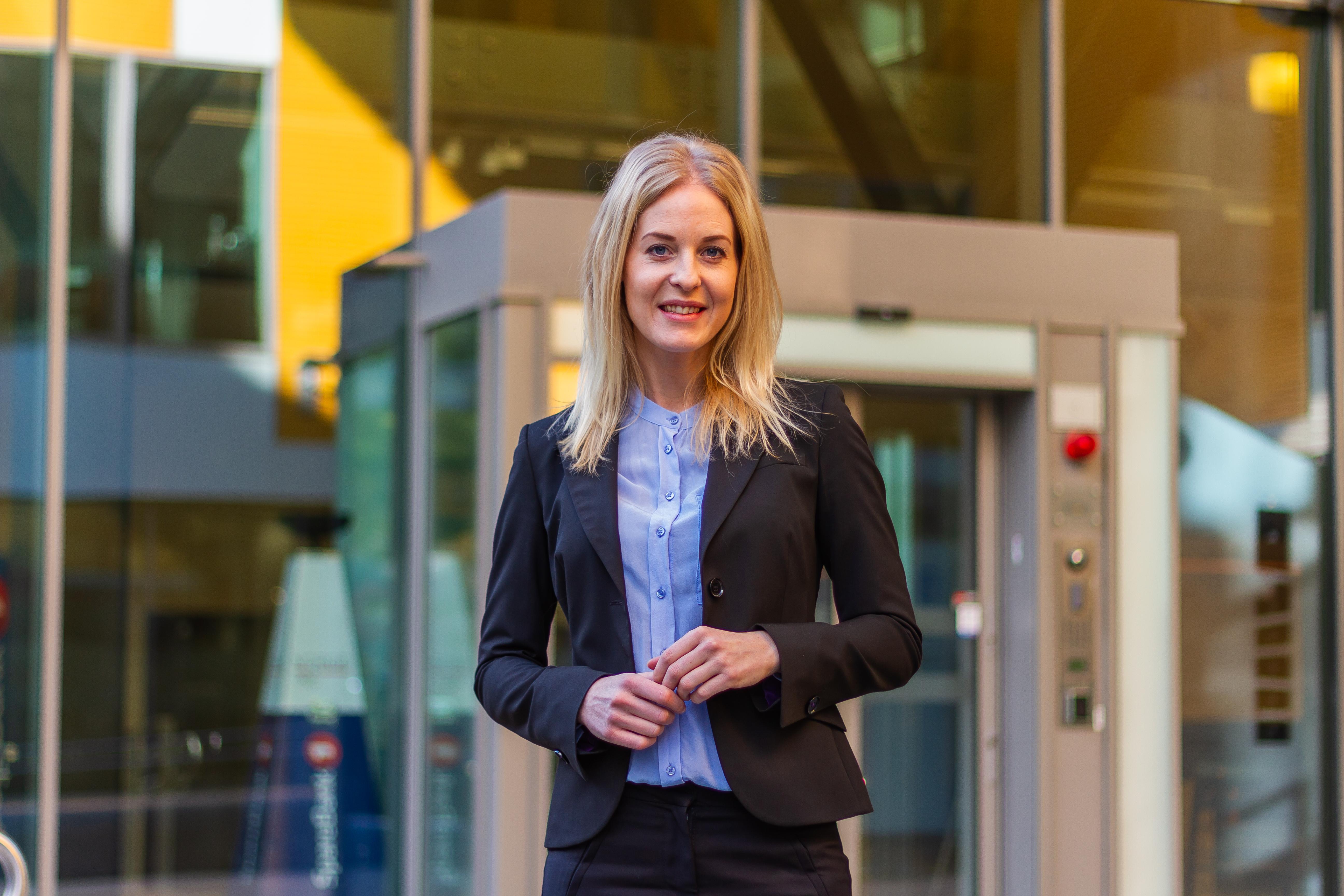 Marte Mølnvik, leder Direktbank bedrift SpareBank 1 SMN
