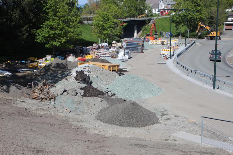 Hektisk innspurt: Metrobussprosjektet har vært svært ressurskrevende. Fra 3. august tar Trondheims kollektivreisende nytt rutenett og materiell i bruk. Foto: Kenneth Stoltz