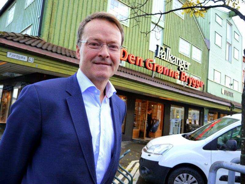 Thor Arne Falkanger, 3. generasjons leder for familiebedriften Falkanger EuroSko. Foto: Jan-Are Hansen