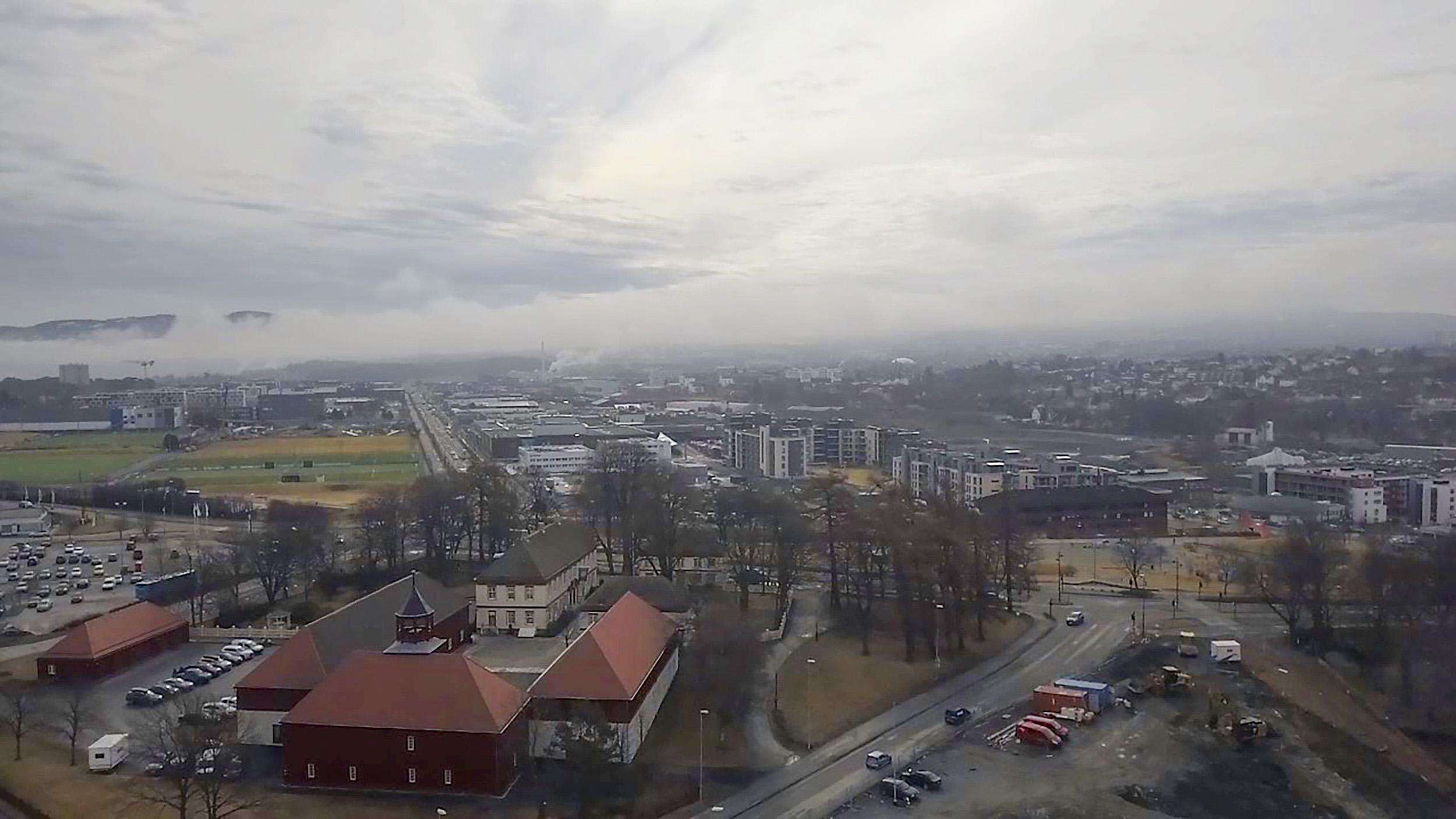 Dronefoto: Jens Westbye / Berre AS