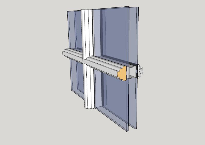 Duplex-sprosser innvendig